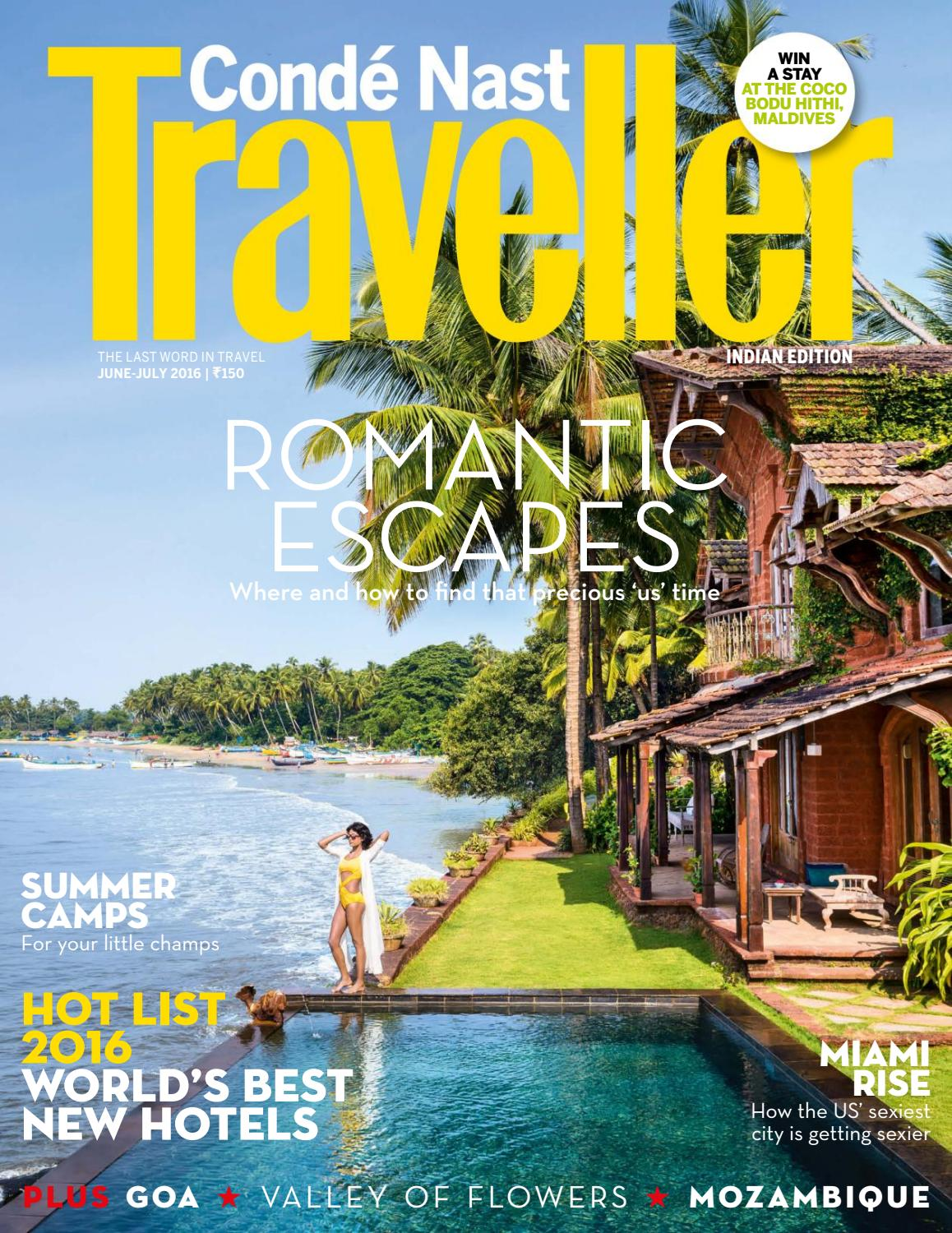 best travel magazines conde nast traveller