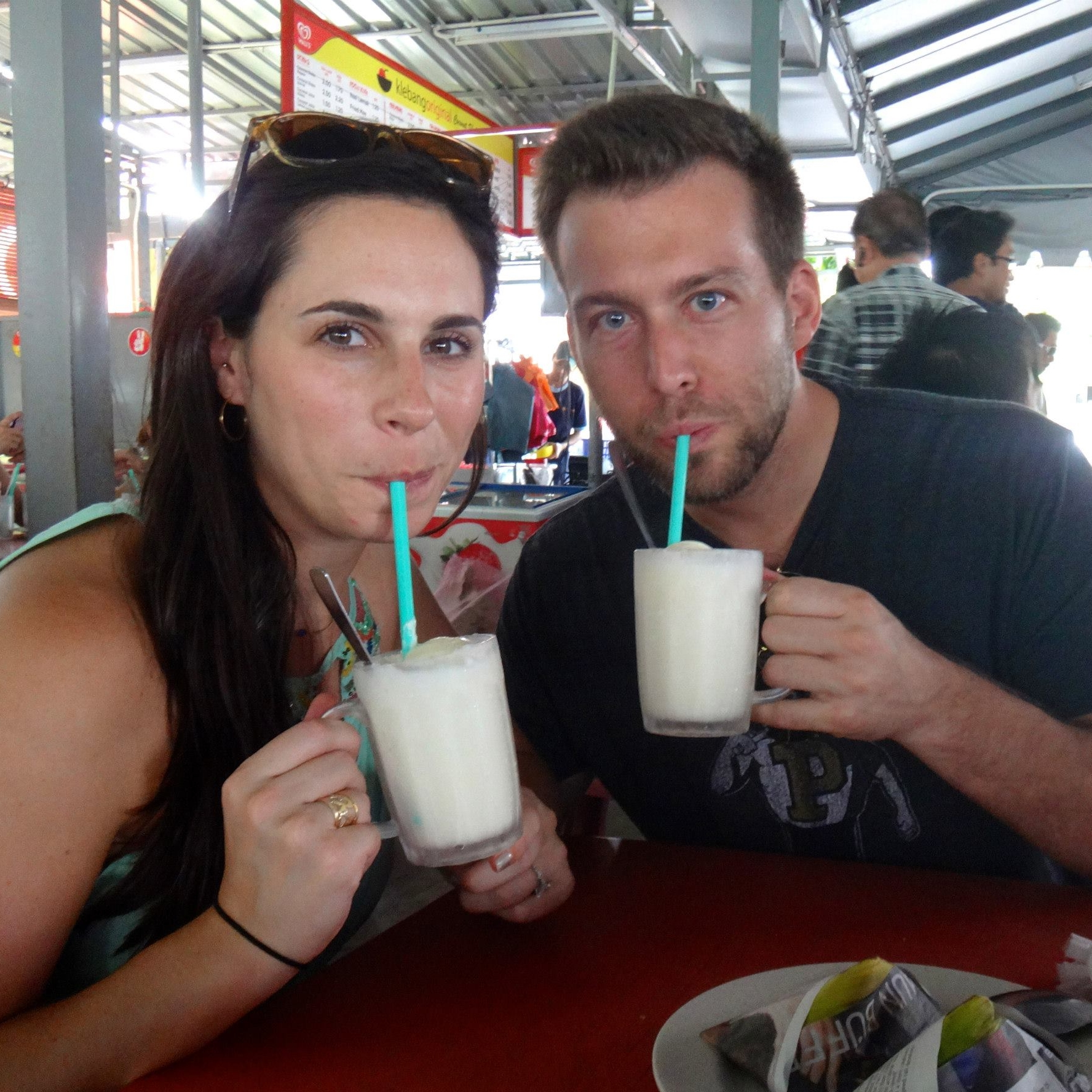malaysia-klebang-coconut-shake eating abroad expat