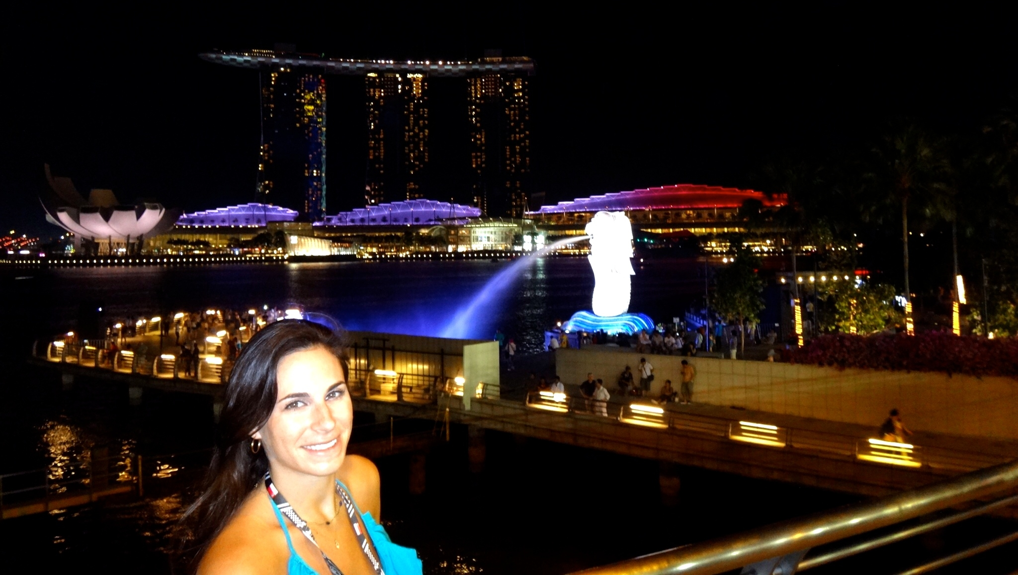2 days in Singapore - Spitting Merlion