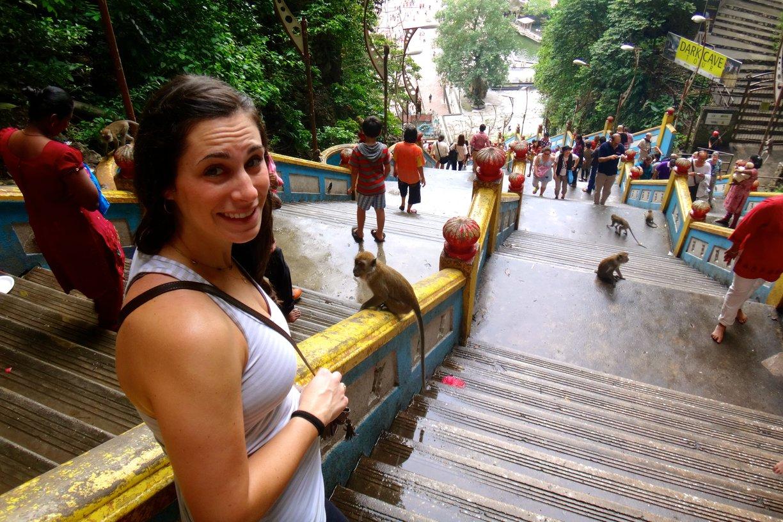malaysia-batu-caves-monkeys expat living abroad