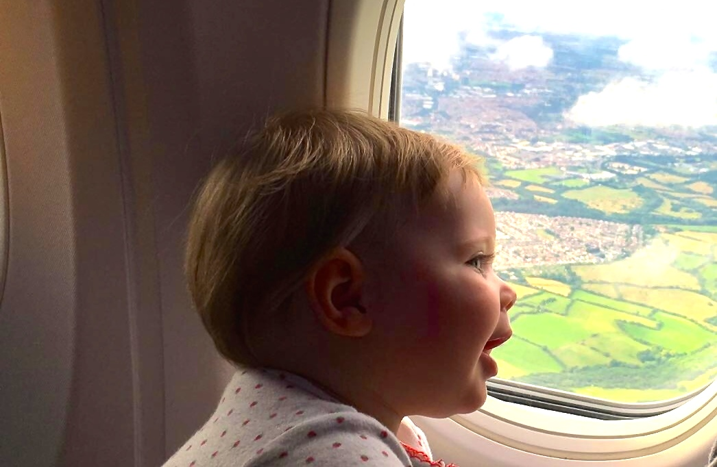 baby airplane travel