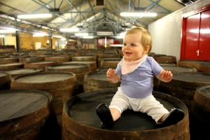 Baby travel scotland whiskey