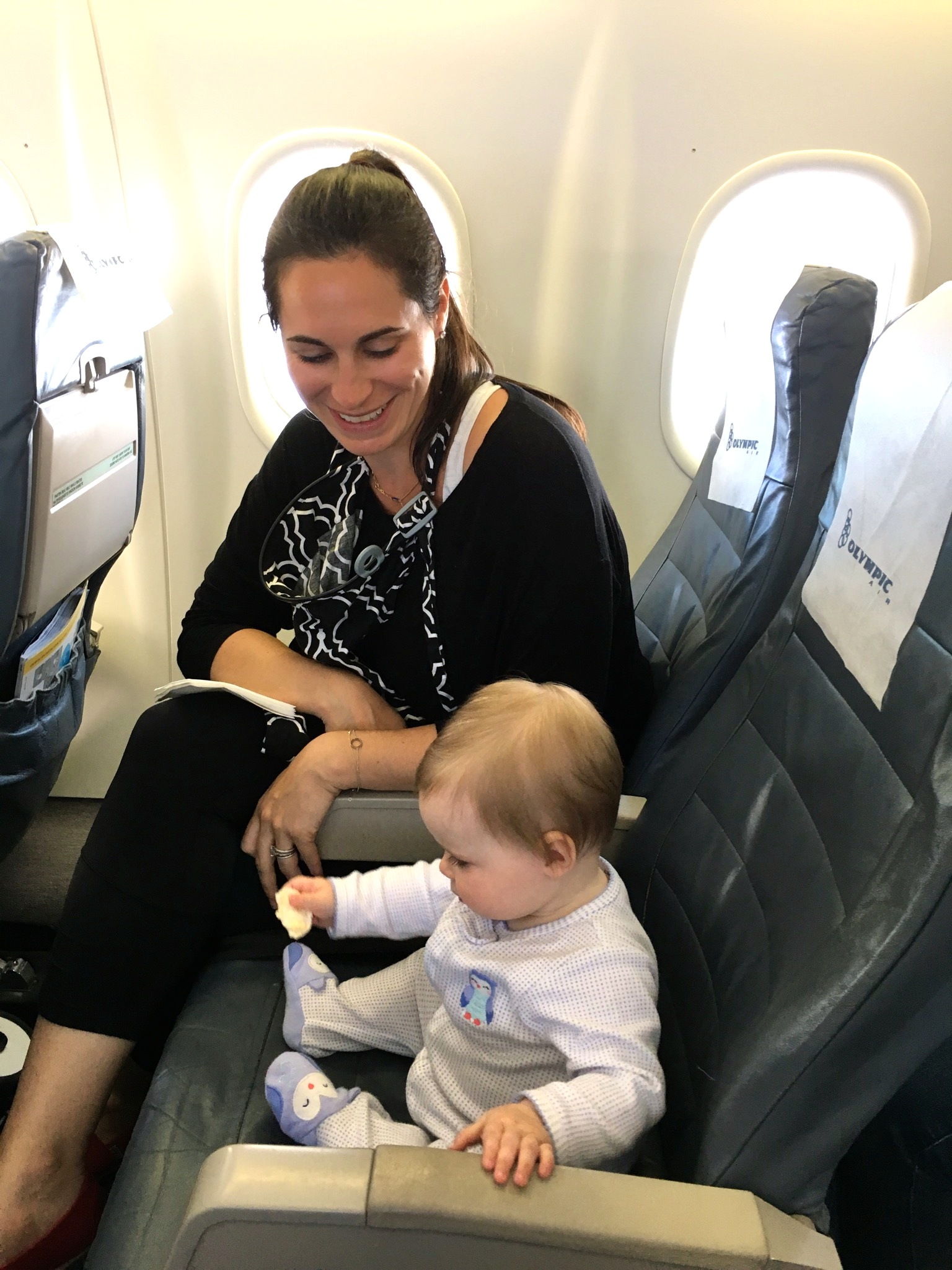 baby airplane holiday travel
