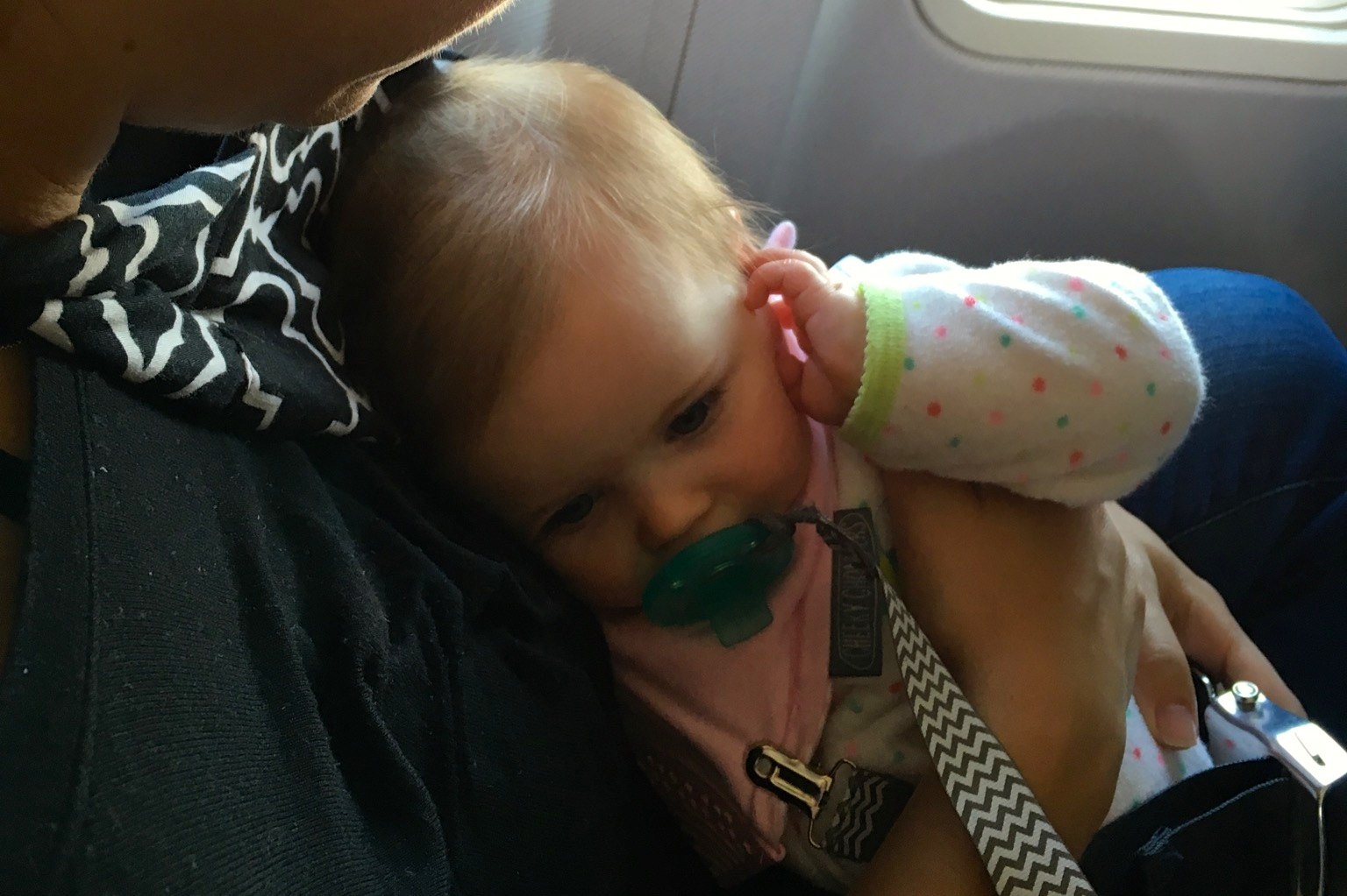 airplane travel with infants