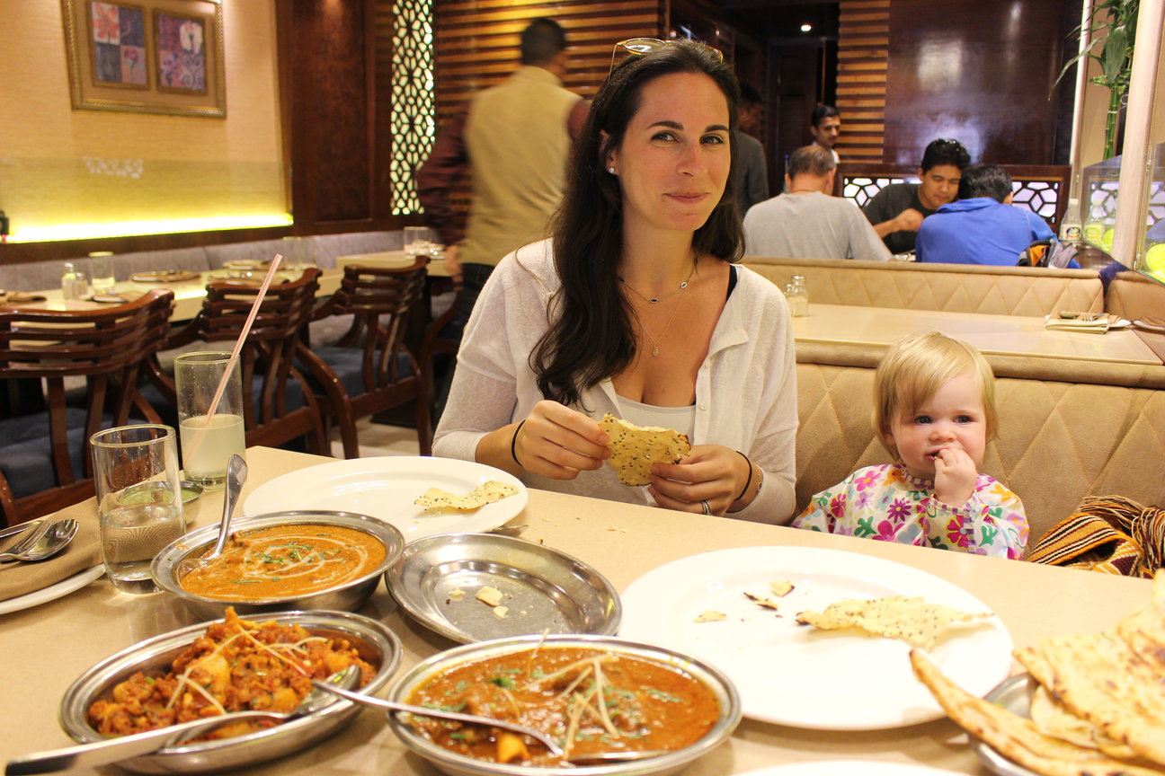baby travel eating in india