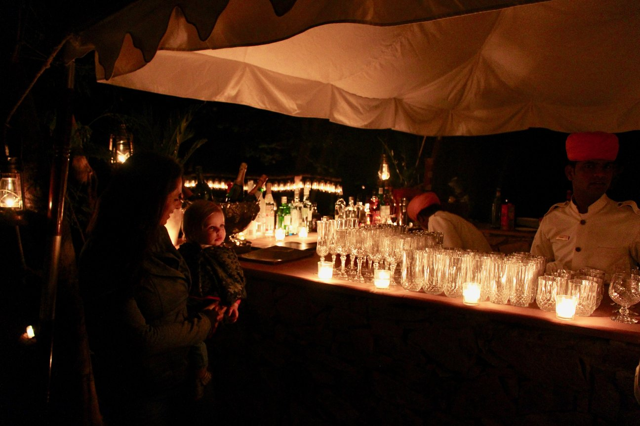 Sher Bagh Tiger Safari India Jungle Bar