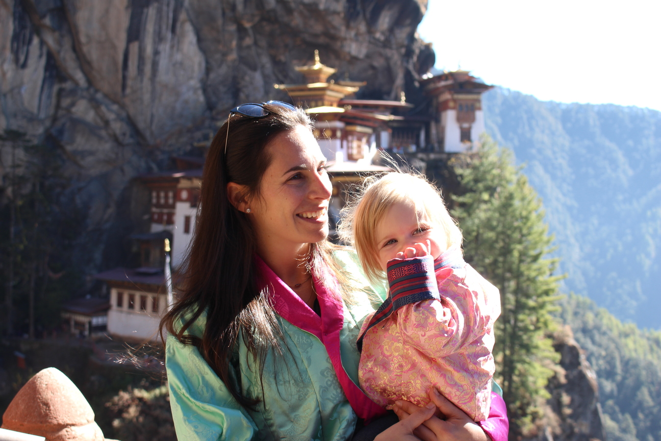 baby in tigers nest bhutan altitude