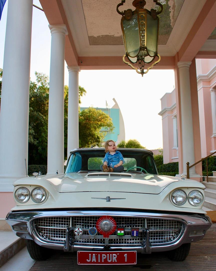 sujan rajmahal palace jaipur india classic cars