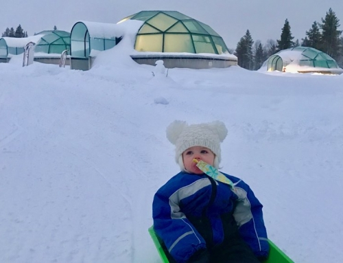 Frozen Family Travel in Finland