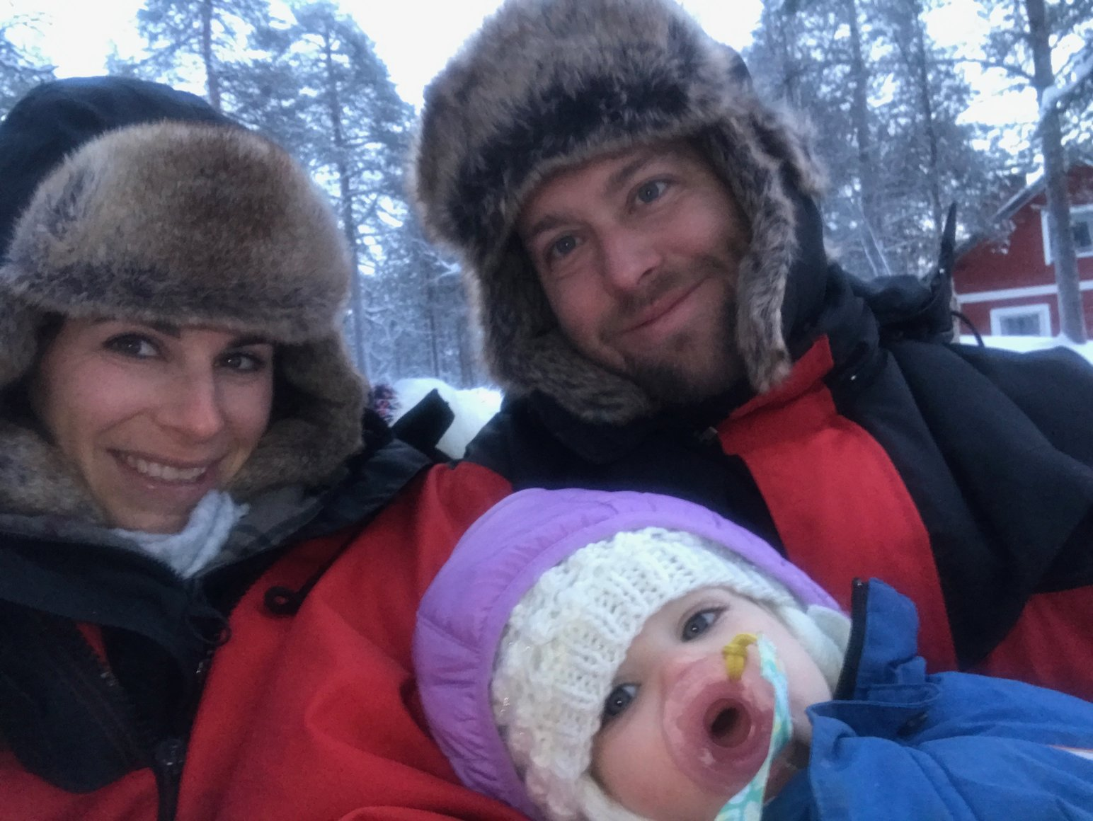 toddler travel to the arctic