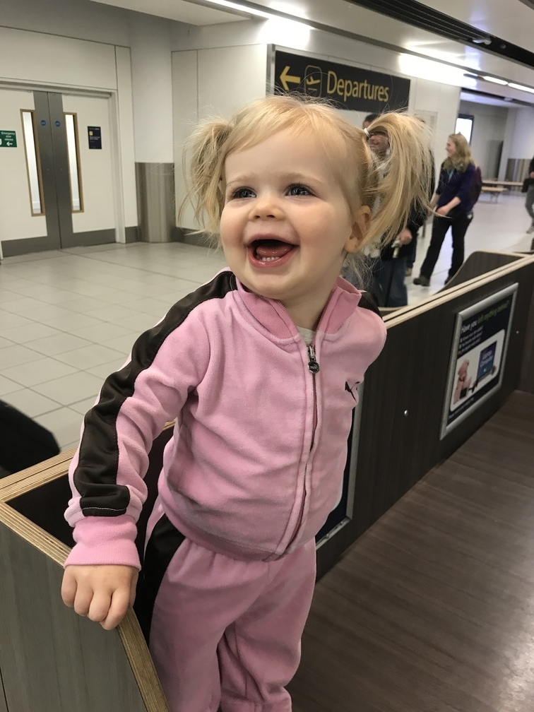 Toddler travel snacks airport