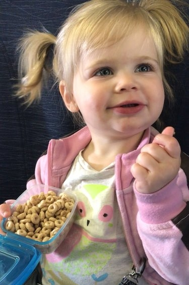 toddler airplane food