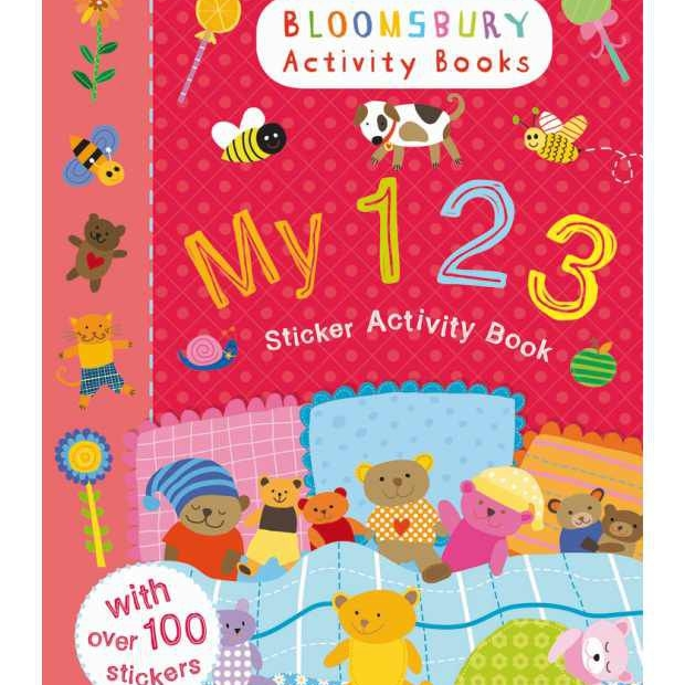 123 Sticker Activity Book