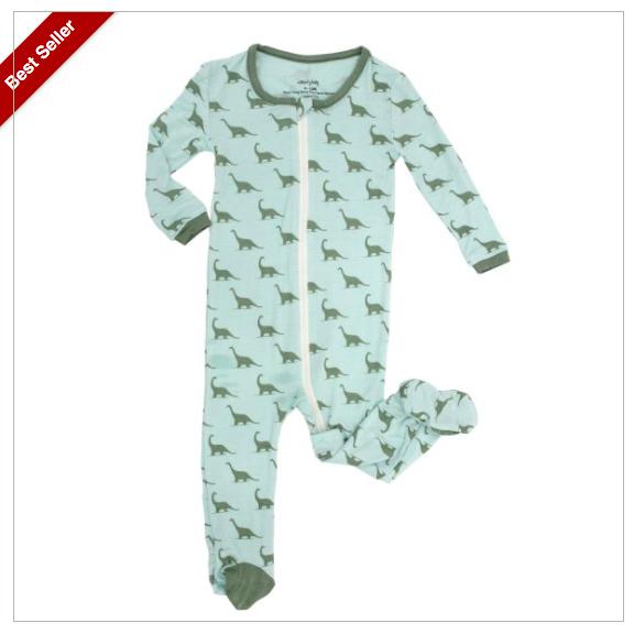 Silberry Baby Bamboo Footie Pajamas