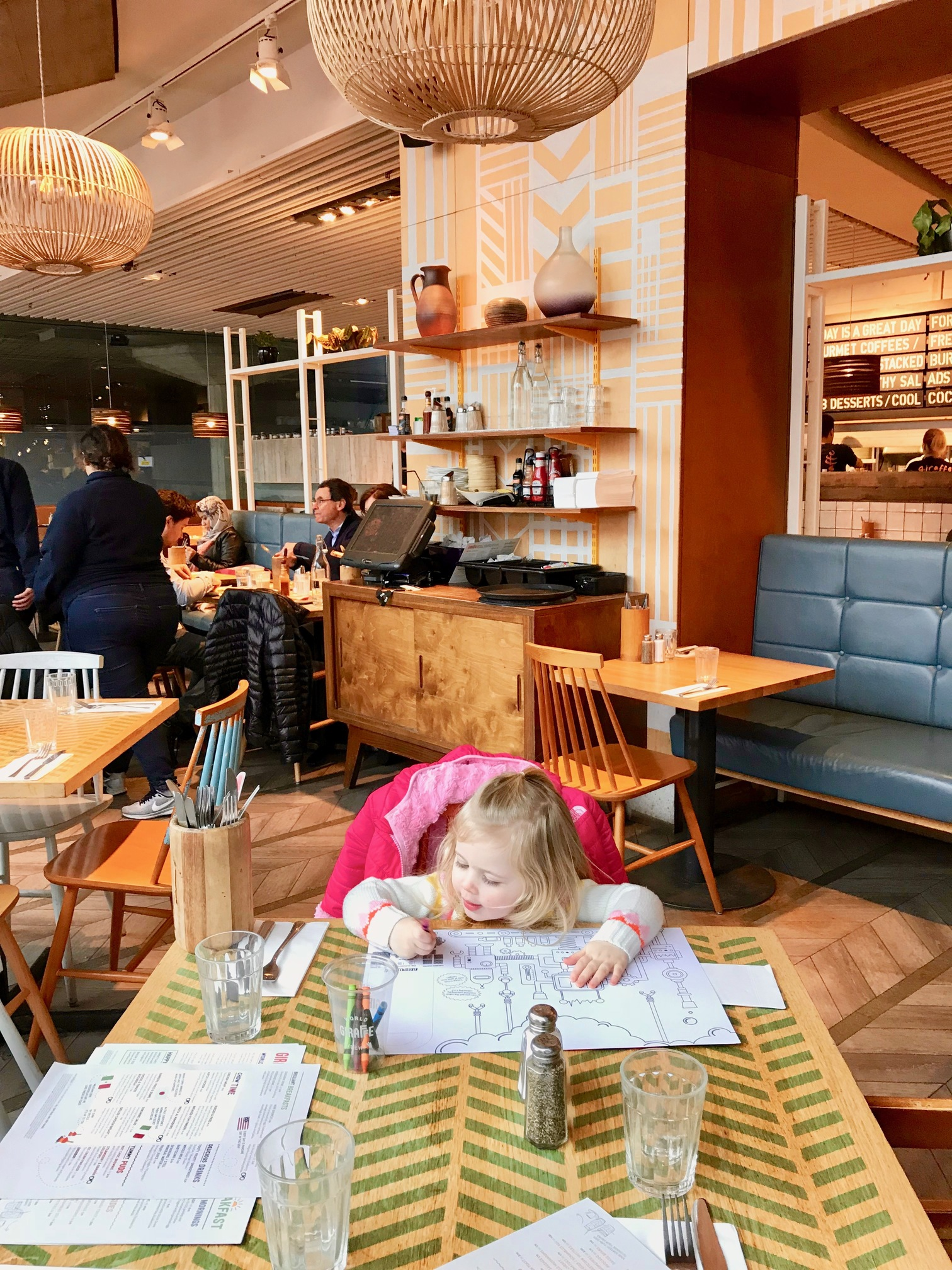 family friendly restaurant london