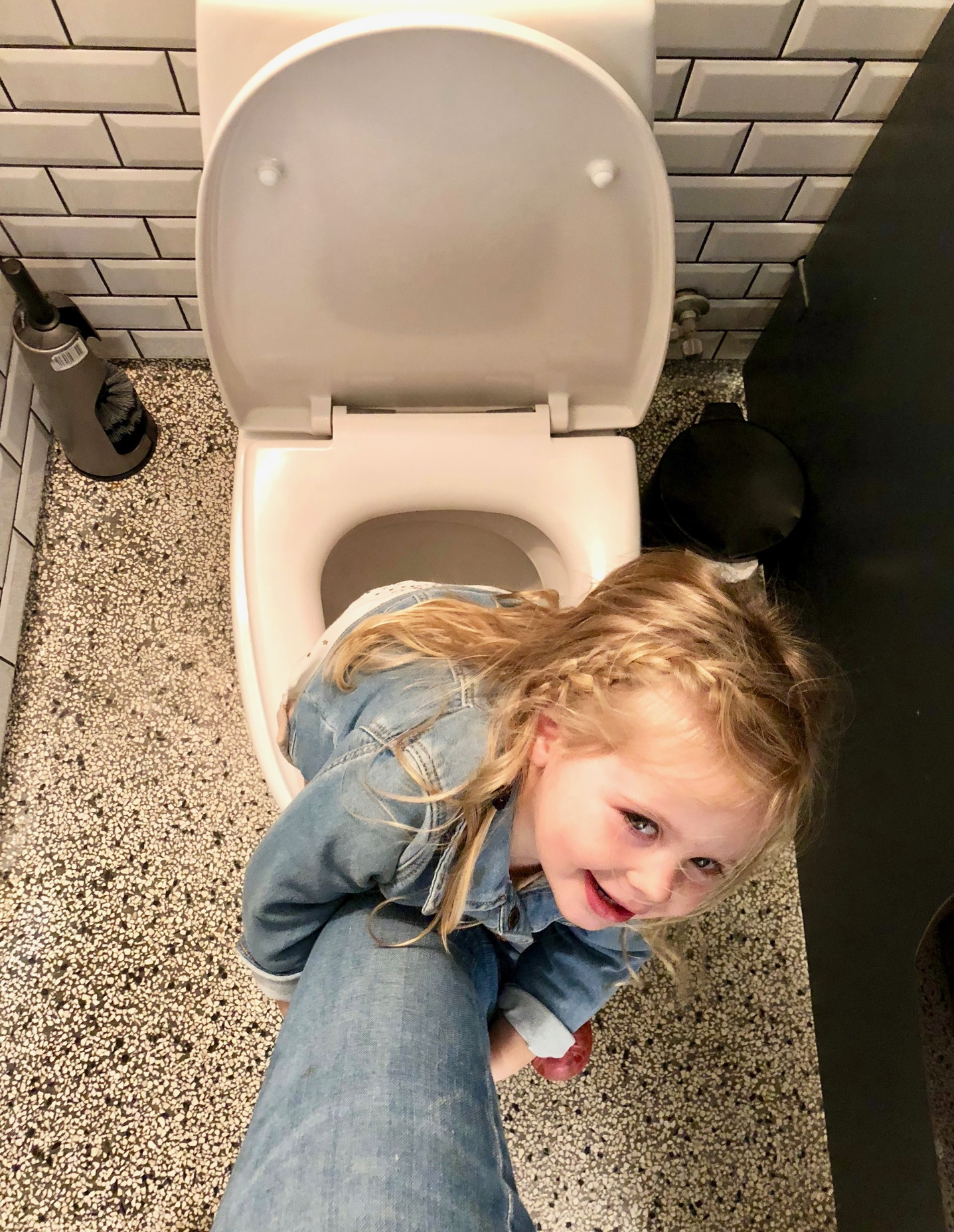 potty training while traveling
