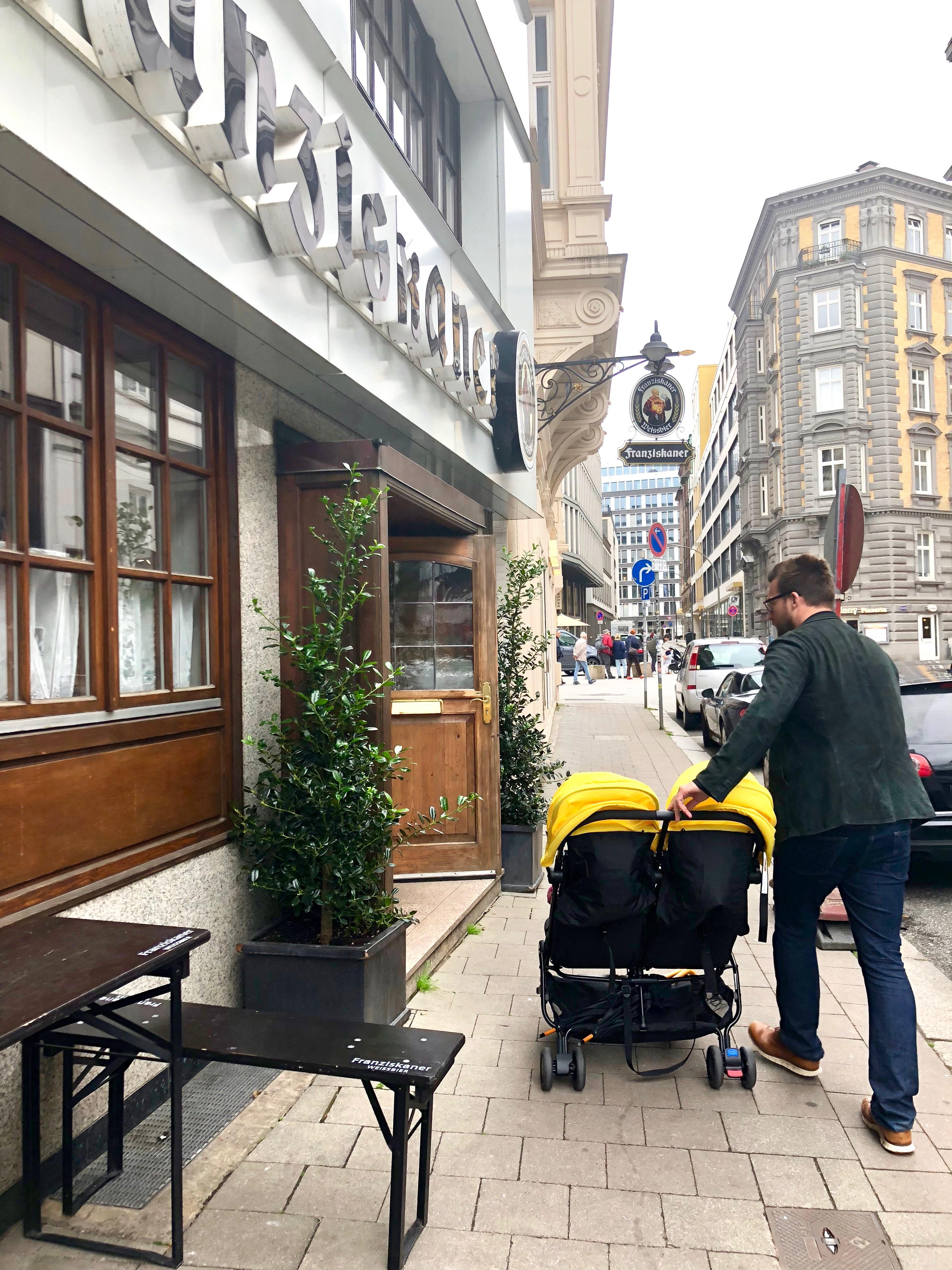 double stroller nano duo