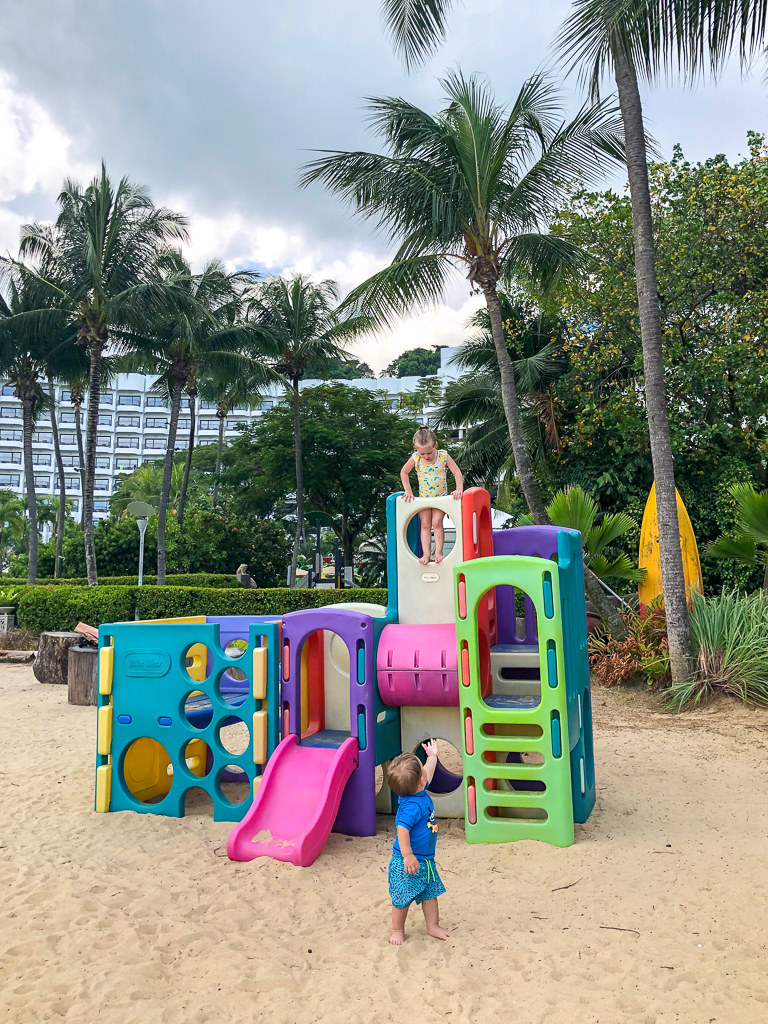 shangri-la rasa sentosa kid friendly hotel