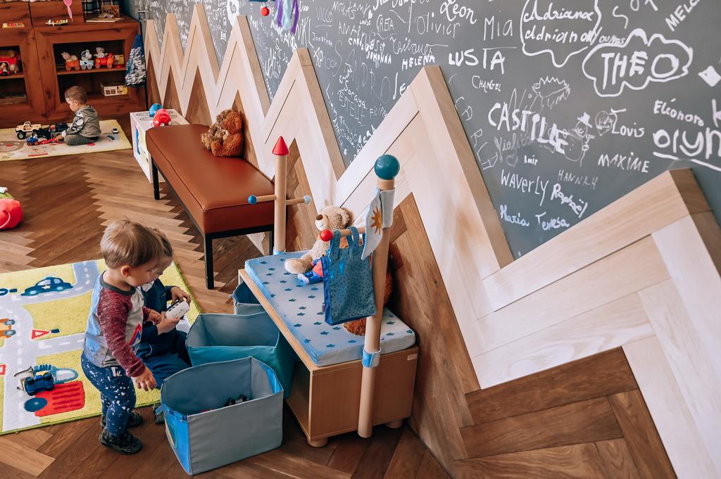 huus hotel gstaad for kids