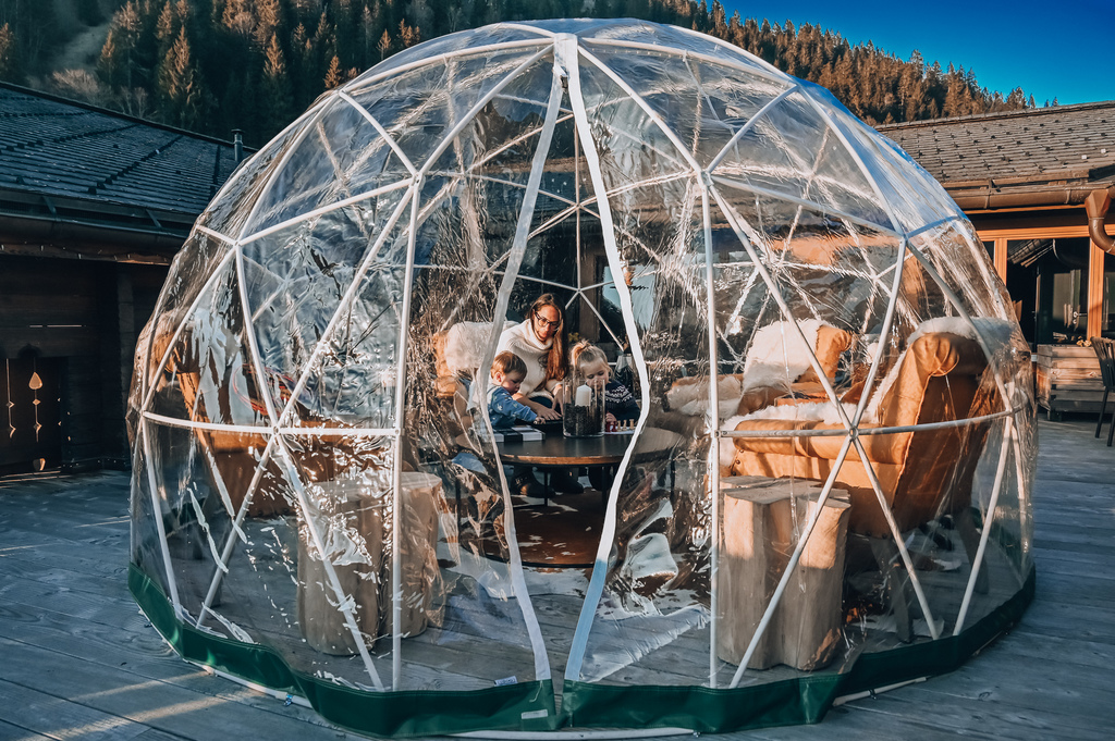 huus gstaad igloo
