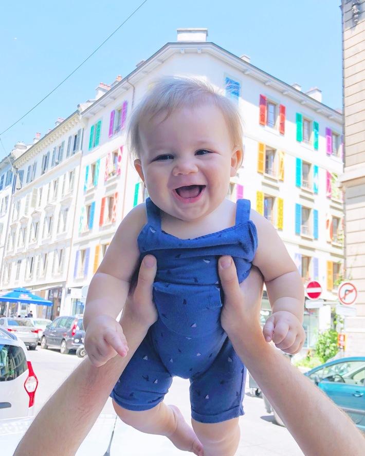 geneva with a baby