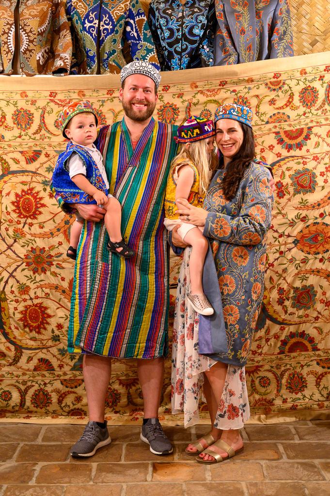 family travel uzbekistan