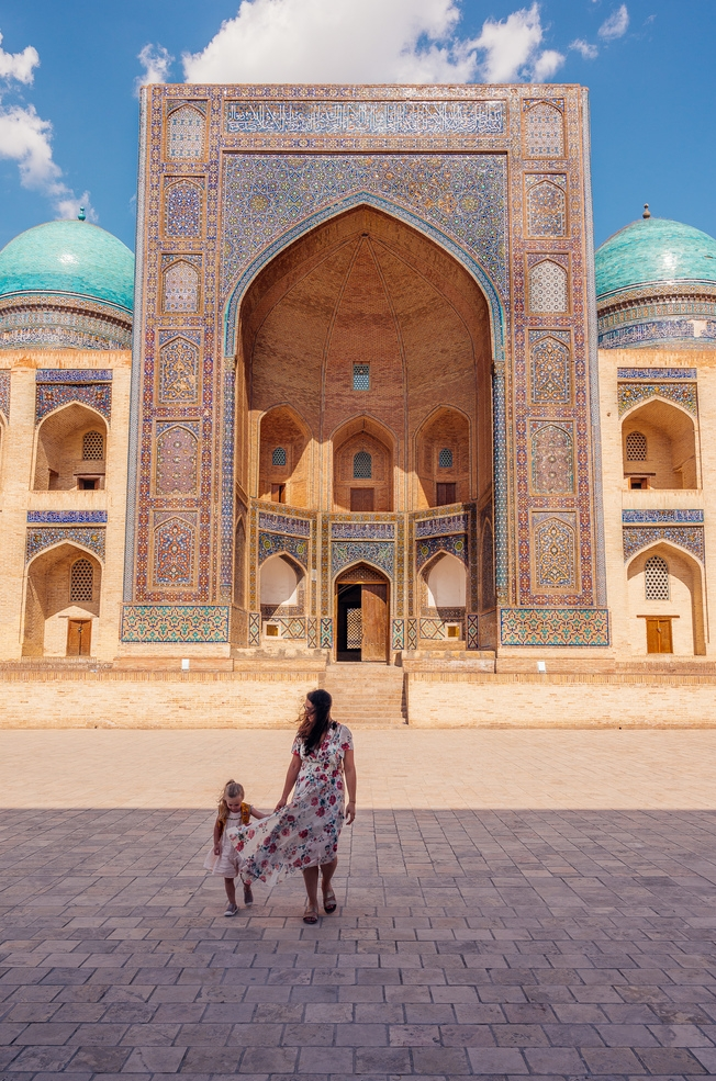 uzbekistan with kids