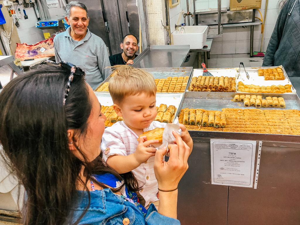 puzzle israel culinary tour
