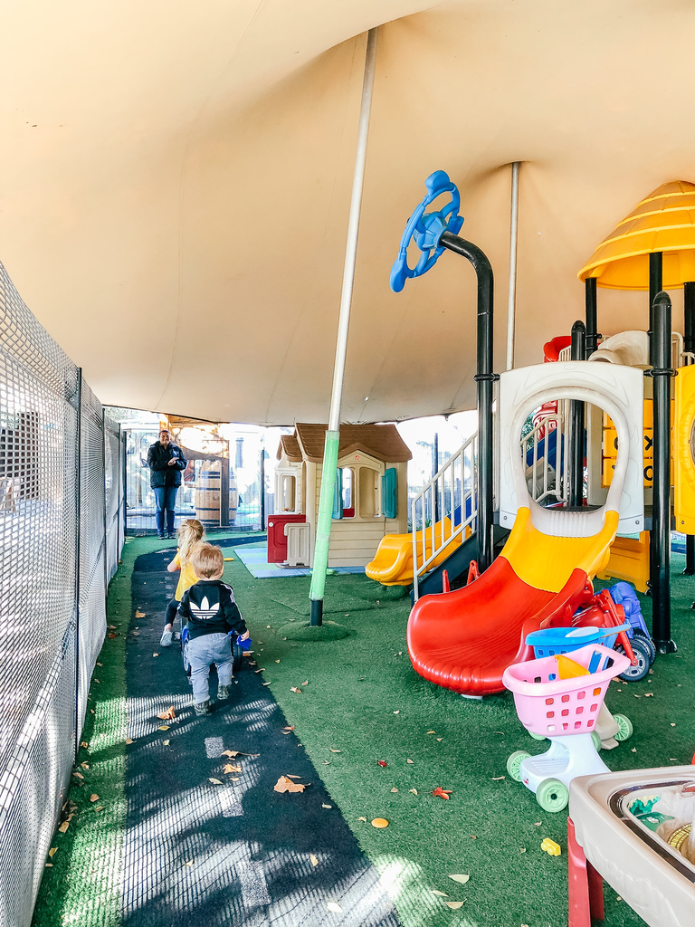 franschhoek cellar play area